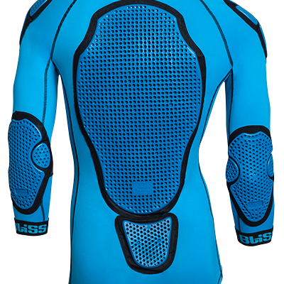 Bliss ARG Comp LD Top (blue) - Mountain Bike protection or MTB Protection, body armour