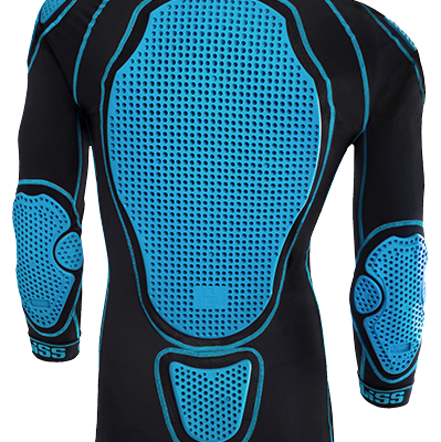 Bliss ARG Comp LD Top (black) - Mountain Bike protection or MTB Protection, body armour