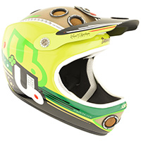 Down-O-Matic Full Face Helmet (DH, Enduro, BMX) certified to Australian Standard AS/NZS 2063.2008 - GravitysportHq.com.au veggie-34avant
